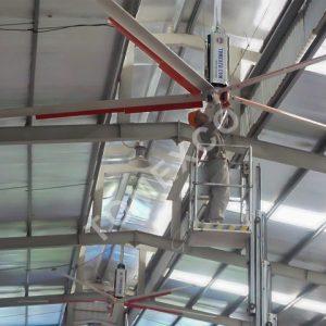 Sản phẩm quạt trần công nghiệp HVLS - 3000 của Tomexco